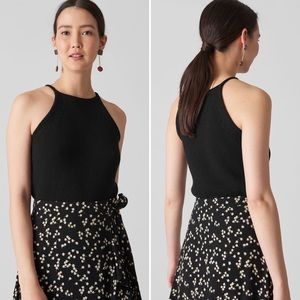 Whistles NEW Black Knitted Vest Top 6